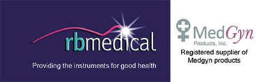 RB Medical and Medgyn logos