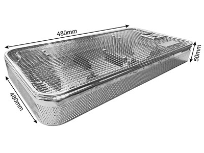 Din basket immersion tray